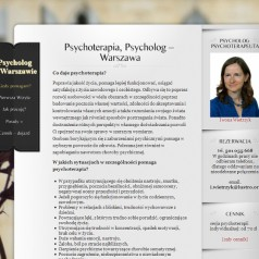 Psycholog, Psychoterapeuta w Warszawie TANIO!
